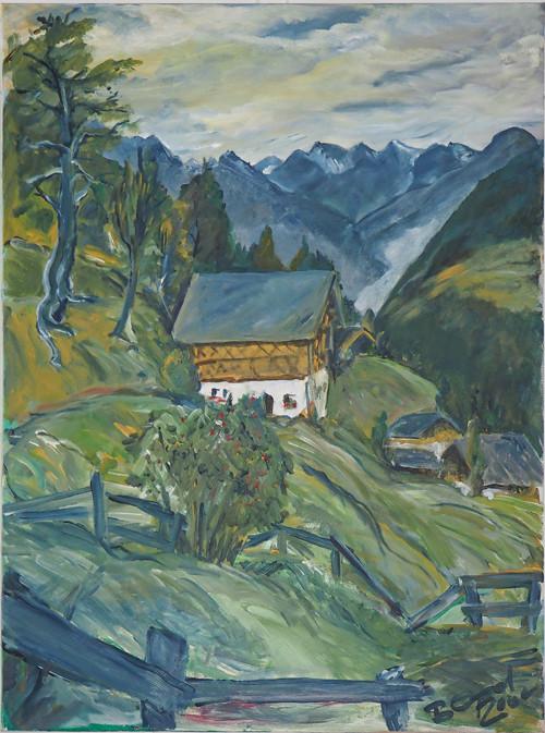 Südtirol Ölmalerei60x80 2000